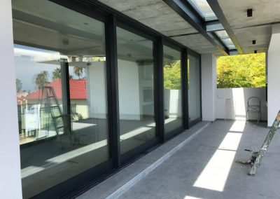 4 Panel Heavy duty sliding door closed position